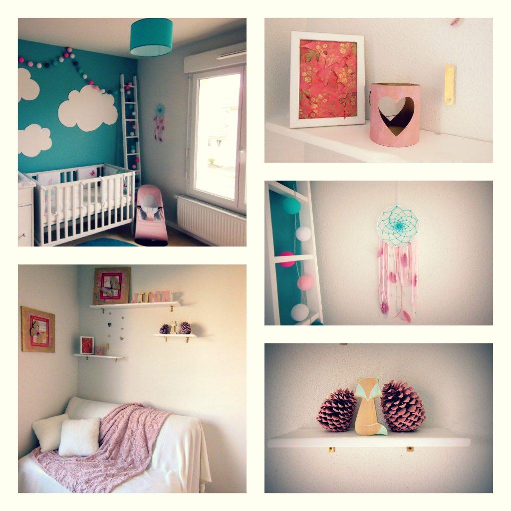 Décoration chambre enfant nature colorée