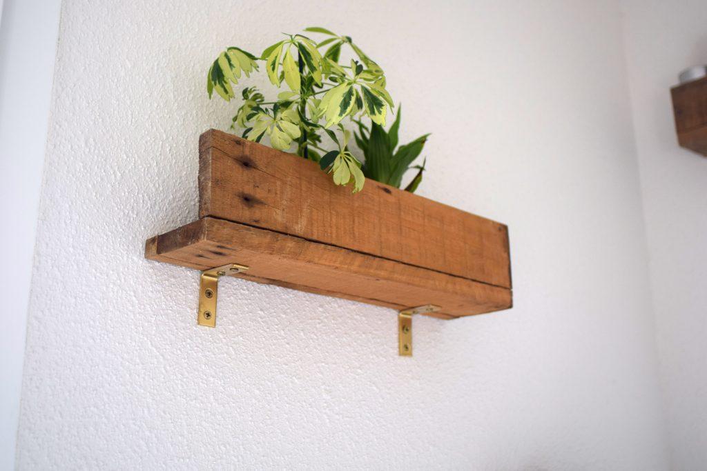 Brico Palette DIY étagère originale