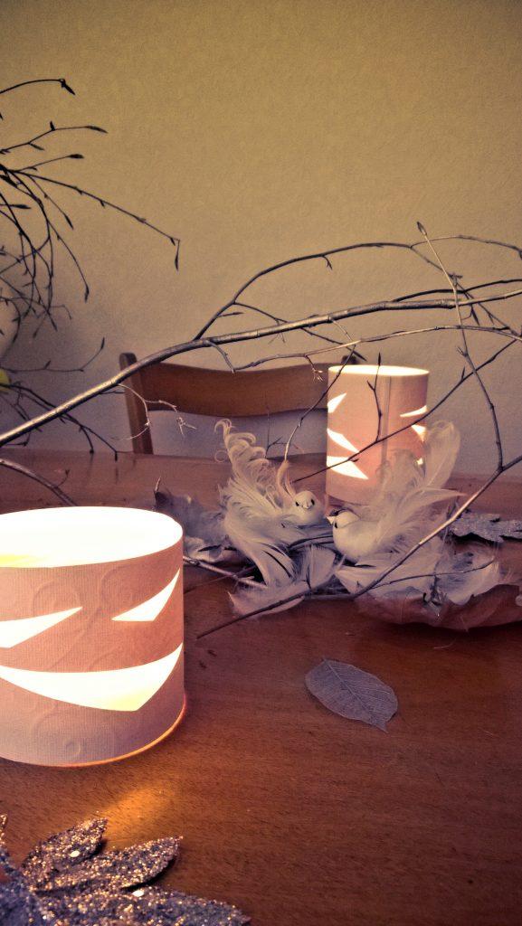 Photophore en papier fabriquer facile