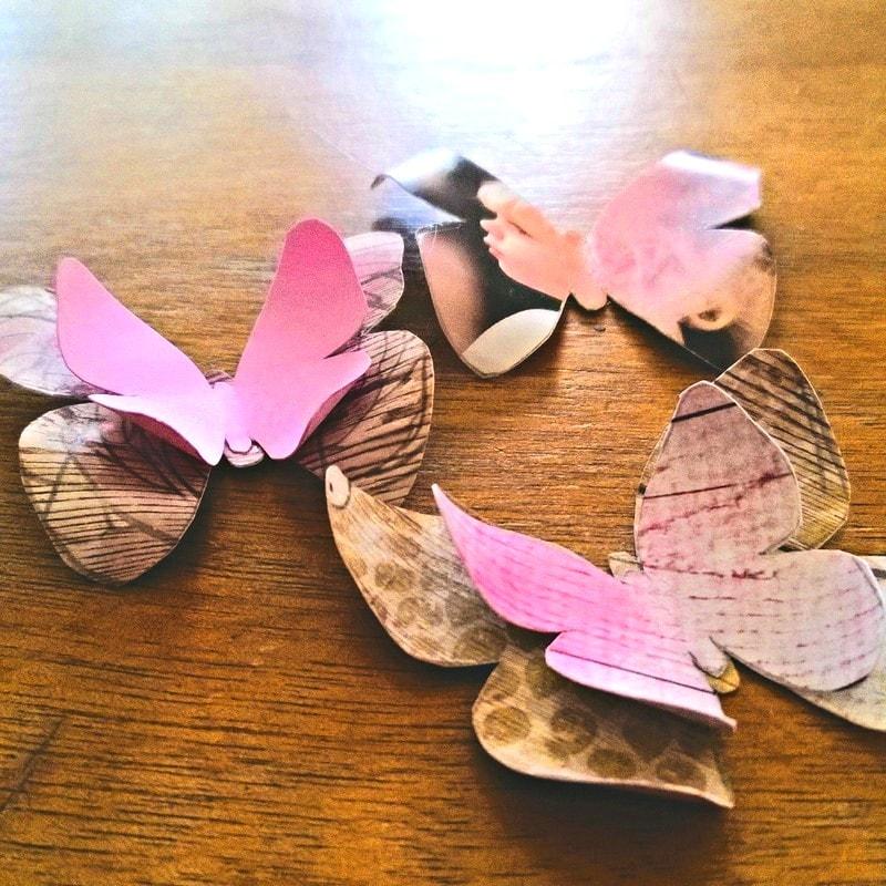 guirlande papillon