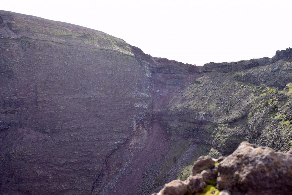 cratere vesuve volcan