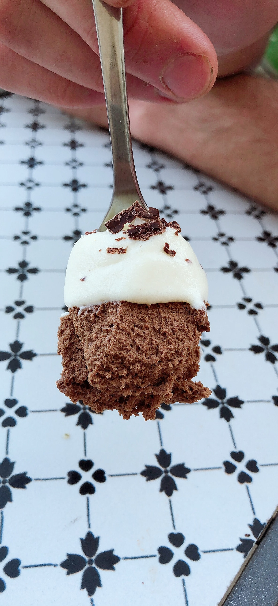 Recette mousse chocolat noir et blanc