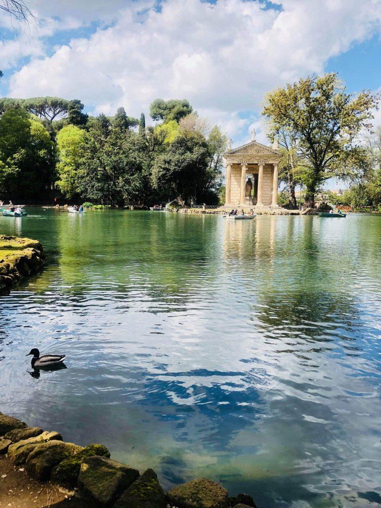 parc borghese rome