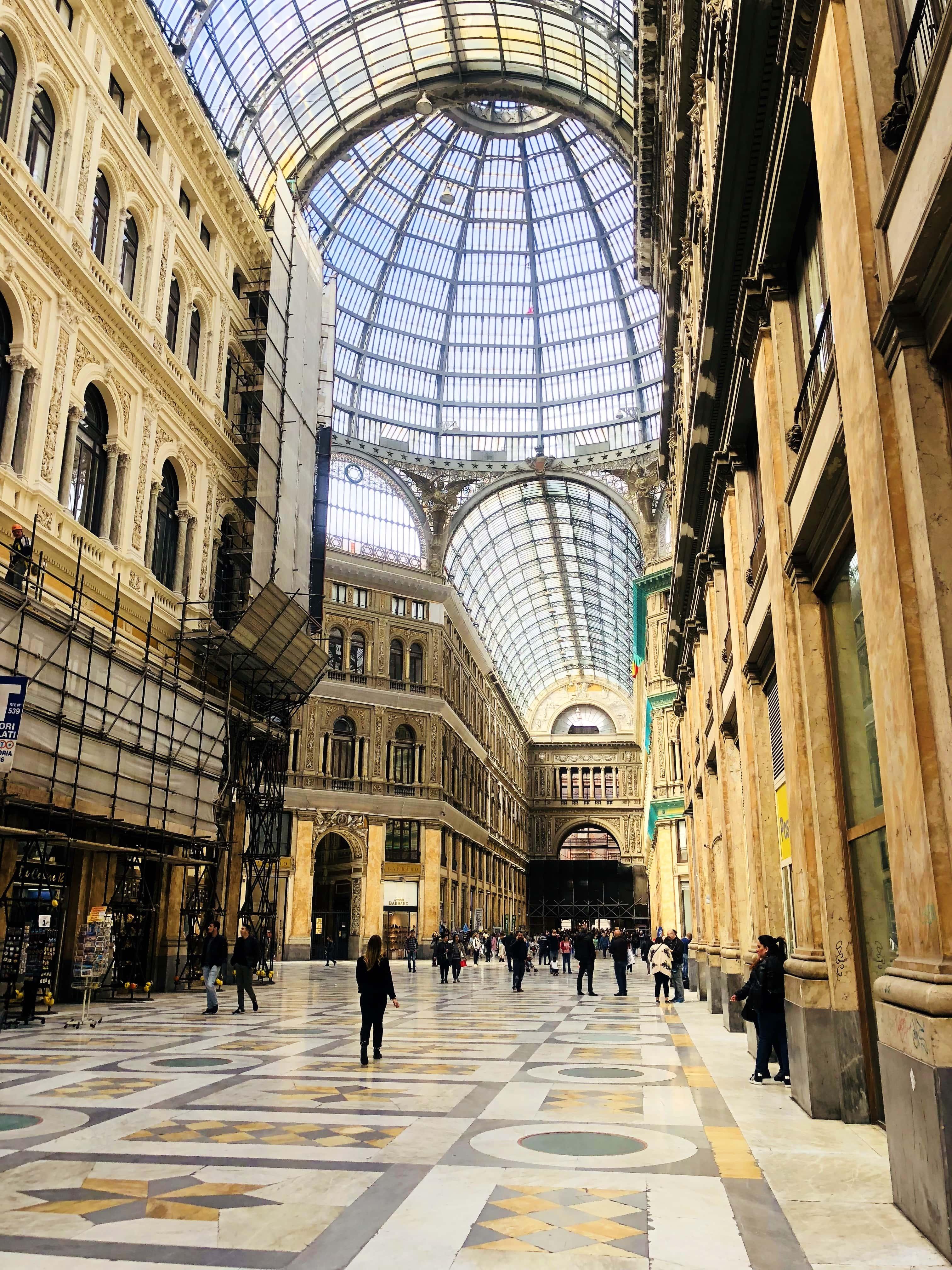 Galerie Umberto Naples NAPOLI