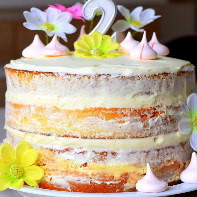 naked cake kinder